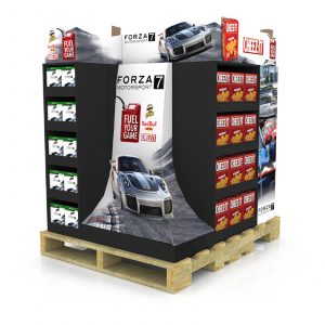 Pallet Display Displays Skirt Wrap Wraps Skirts