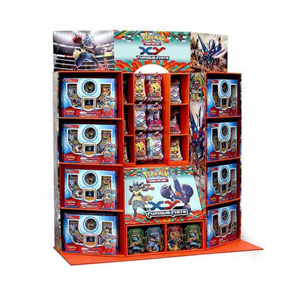 Half Pallet Display Retail POP Pokemon Trading Cards