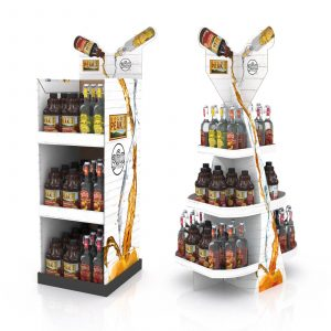Floor Display Beverage Floorstand