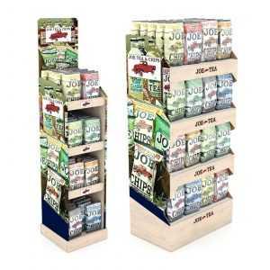 Retail Display Food Floorstand