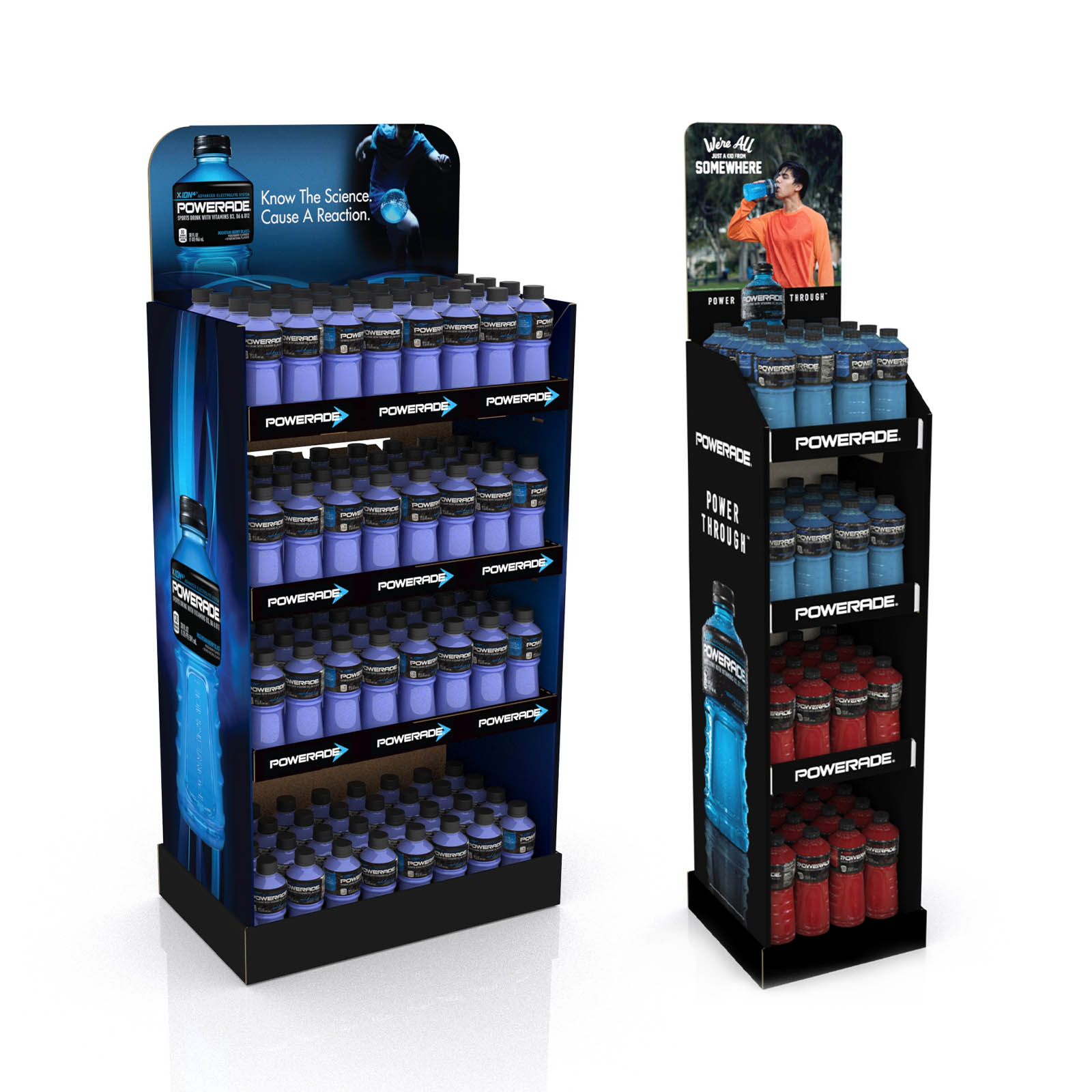 Floorstand Floor Display POP Beverage
