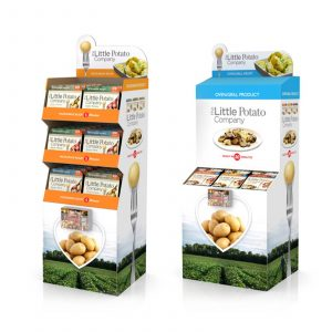 Floorstand Floor Display POP Retail Food