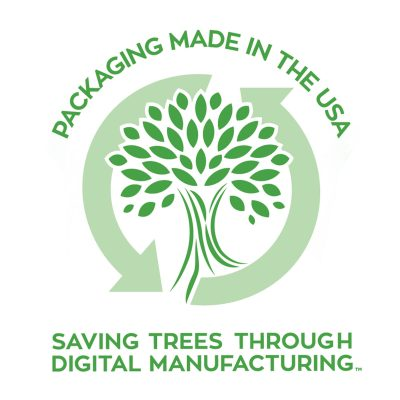 Sinomax USA Sustainability Carbon Footprint Digital Printing Retail Packaging Custom