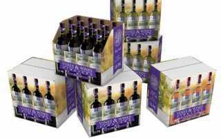 Wine SRP Packaging RRP Shelf-Ready Retail-Ready