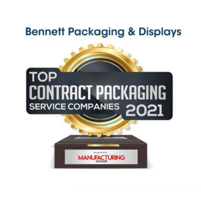 Manufacturing Outlook Names Bennett Top 10 Contract Packaging Service Companies