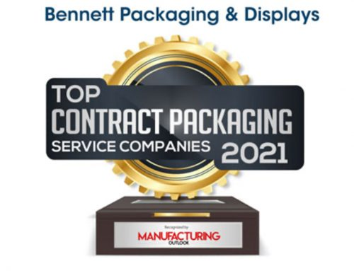 Bennett Recognized As A Top 10 Contract Packaging Company